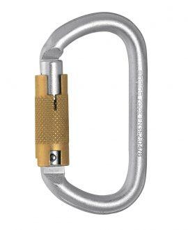 OVAL STEEL CONNECTOR / TRIPLE LOCK